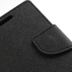 Diary PU kožené puzdro pre mobil Samsung Galaxy S2 - čierne - 7