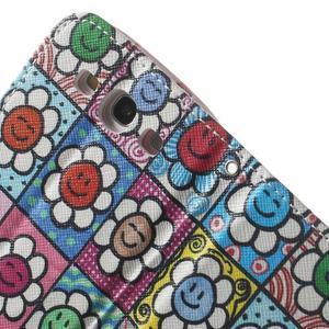 Funy pouzdro na mobil Samsung Galaxy S3 - květiny - 7