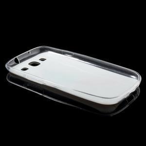 Ultratenký gelový obal na mobil Samsung Galaxy S3 - peříčko - 7