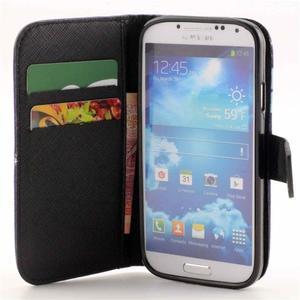 Standy peňaženkové puzdro pre Samsung Galaxy S4 - triangl - 7