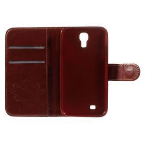 Elegant peňaženkové puzdro pre Samsung Galaxy S4 - mortal - 7