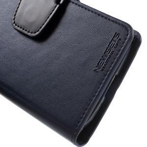 Diary PU kožené pouzdro na mobil Samsung Galaxy S4 - tmavěmodré - 7