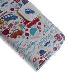 Style peňaženkové puzdro pre Samsung Galaxy S4 mini - Londýn - 7/7