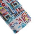 Style peněženkové pouzdro na Samsung Galaxy S4 mini - New York - 7/7