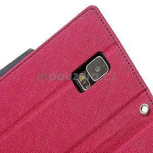 Diary peňaženkové puzdro pre Samsung Galaxy S5 - rose - 7