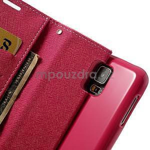 Diary peněženkové pouzdro na Samsung Galaxy S5 - růžové - 7