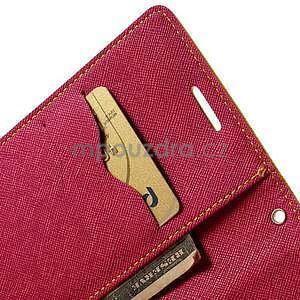 Diary peňaženkové puzdro pre Samsung Galaxy S5 - žlté - 7