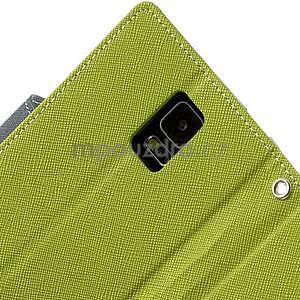 Diary peněženkové pouzdro na Samsung Galaxy S5 - zelené - 7