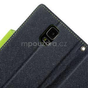 Diary peněženkové pouzdro na Samsung Galaxy S5 - tmavěmodré - 7