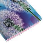 Ochranné koženkové puzdro na Samsung Galaxy Tab E 9.6 - odkvitnutá púpava - 7/7