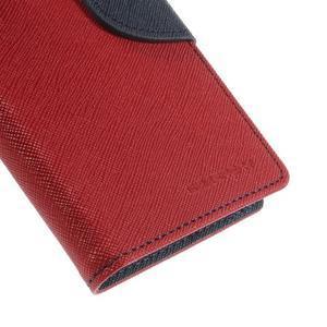 Richmercury puzdro pre mobil Sony Xperia E3 - červené - 7