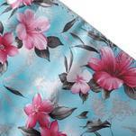 Květinkové pouzdro na mobil Sony Xperia M4 Aqua - modré - 7/7