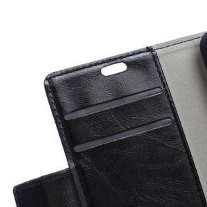 Horse PU kožené puzdro pre Sony Xperia X - čierne - 7