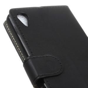 Walle Peňaženkové puzdro pre Sony Xperia X - čierne - 7