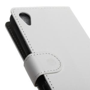Walle peněženkové pouzdro na Sony Xperia X - bílé - 7