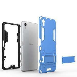 Odolný kryt na mobil Sony Xperia X - světlemodrý - 7