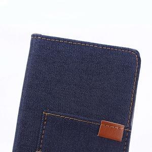 Jeans peněženkové pouzdro na mobil Sony Xperia XA - tmavěmodré - 7