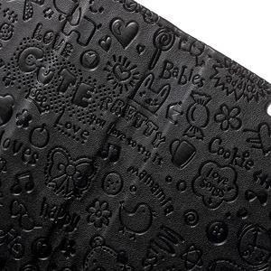 Cartoo peněženkové pouzdro na mobil Sony Xperia XA - černé - 7