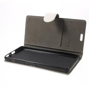 Cardy puzdro pre mobil Sony Xperia XA - biele - 7