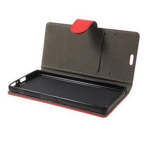 Cardy puzdro pre mobil Sony Xperia XA - červené - 7