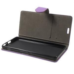 Cardy puzdro pre mobil Sony Xperia XA - fialové - 7