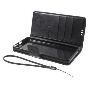 Butterfly pouzdro na mobil Sony Xperia XA - černé - 7
