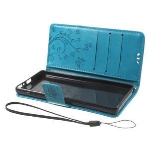 Butterfly puzdro pre mobil Sony Xperia XA - modré - 7