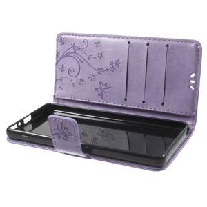 Butterfly puzdro pre mobil Sony Xperia XA - fialové - 7