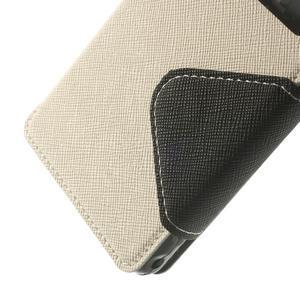 Okýnkové puzdro pre mobil Sony Xperia Z1 Compact - biele - 7