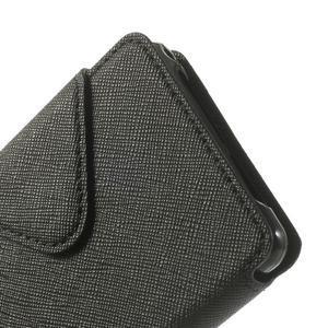 Okýnkové pouzdro na mobil Sony Xperia Z1 Compact - černé - 7