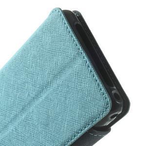 Okýnkové pouzdro na mobil Sony Xperia Z1 Compact - světlemodré - 7
