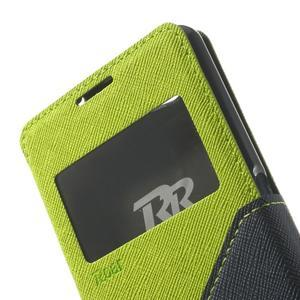 Okýnkové pouzdro na mobil Sony Xperia Z1 Compact - zelené - 7
