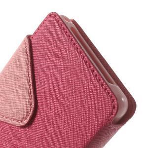Okýnkové pouzdro na mobil Sony Xperia Z1 Compact - rose - 7