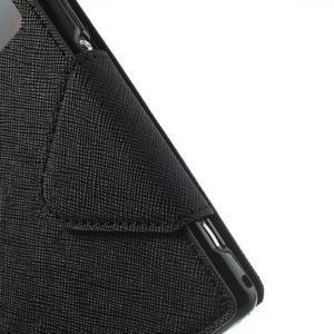 Okýnkové pouzdro na mobil Sony Xperia Z1 - černé - 7