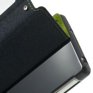 Okýnkové puzdro pre mobil Sony Xperia Z2 - zelené - 7