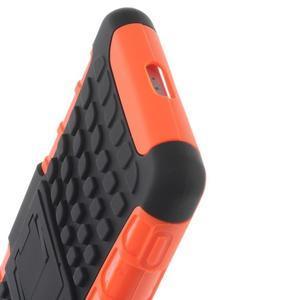Outdoor odolný kryt na mobil Sony Xperia Z2 - oranžový - 7