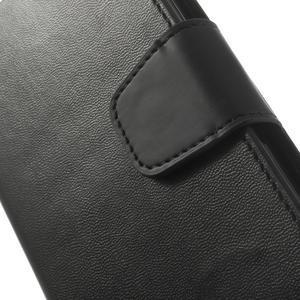 Sonata PU kožené puzdro pre mobil Sony Xperia Z2 - čierne - 7