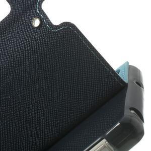 Okýnkové pouzdro na mobil Sony Xperia Z2 - světlemodré - 7