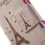 Pictu Peňaženkové puzdro pre Sony Xperia Z3 Compact - Eiffelova veža - 7/7