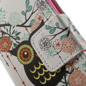 Pictu Peňaženkové puzdro pre Sony Xperia Z3 Compact - sovička - 7