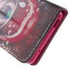 Pictu peněženkové pouzdro na Sony Xperia Z3 Compact - oko - 7/7