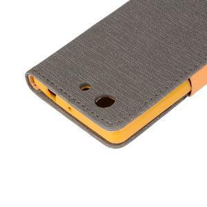 Texture pouzdro na mobil Sony Xperia Z3 Compact - šedé - 7