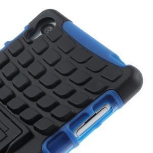 Outdoor ochranný kryt na mobil Sony Xperia Z3 - modrý - 7