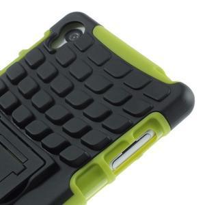 Outdoor ochranný kryt pre mobil Sony Xperia Z3 - zelený - 7