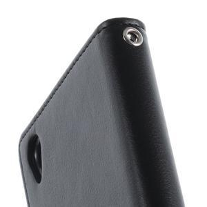 Luxury PU kožené pouzdro na mobil Sony Xperia Z3 - černé - 7