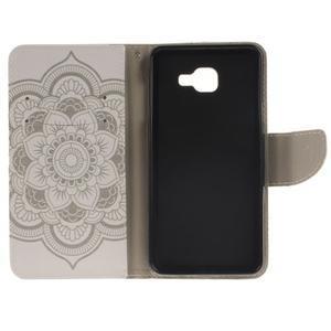 Patt peňaženkové puzdro pre Samsung Galaxy A3 (2016) - henna - 7