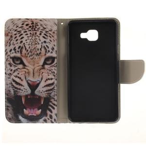 Patt peňaženkové puzdro pre Samsung Galaxy A3 (2016) - leopard se zoubky - 7