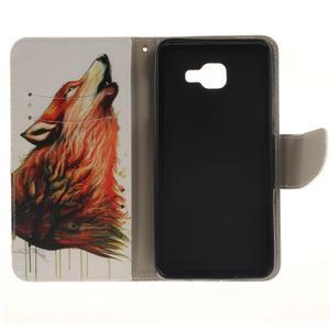 Patt peněženkové pouzdro na Samsung Galaxy A3 (2016) - vlk - 7