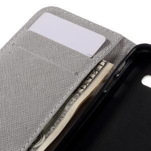 Standy peňaženkové puzdro pre Samsung Galaxy A3 (2016) - grafity - 7