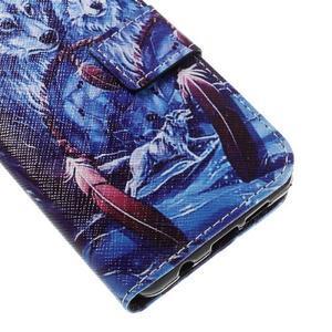 Standy peňaženkové puzdro pre Samsung Galaxy A3 (2016) - vlci - 7